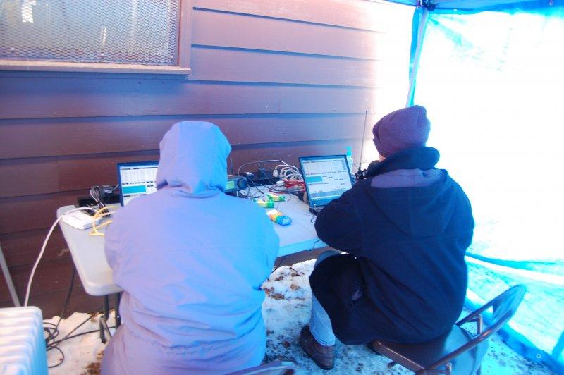 SPAR Winter Field Day 2015 – Four Lakes Amateur Radio Club